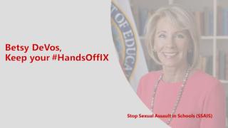 #HandsOffIX