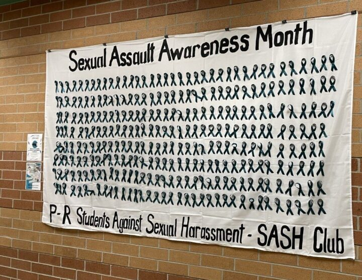 SASH club raises awareness with Sexual Assault Awareness Month campaign